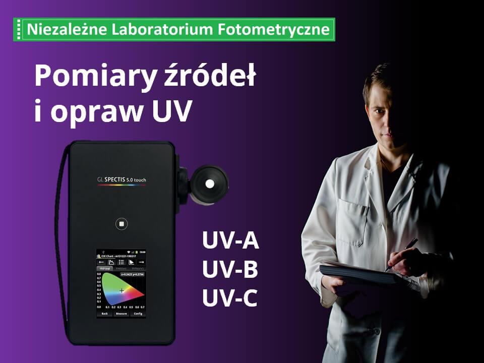 pomiar promieniowania UV-C